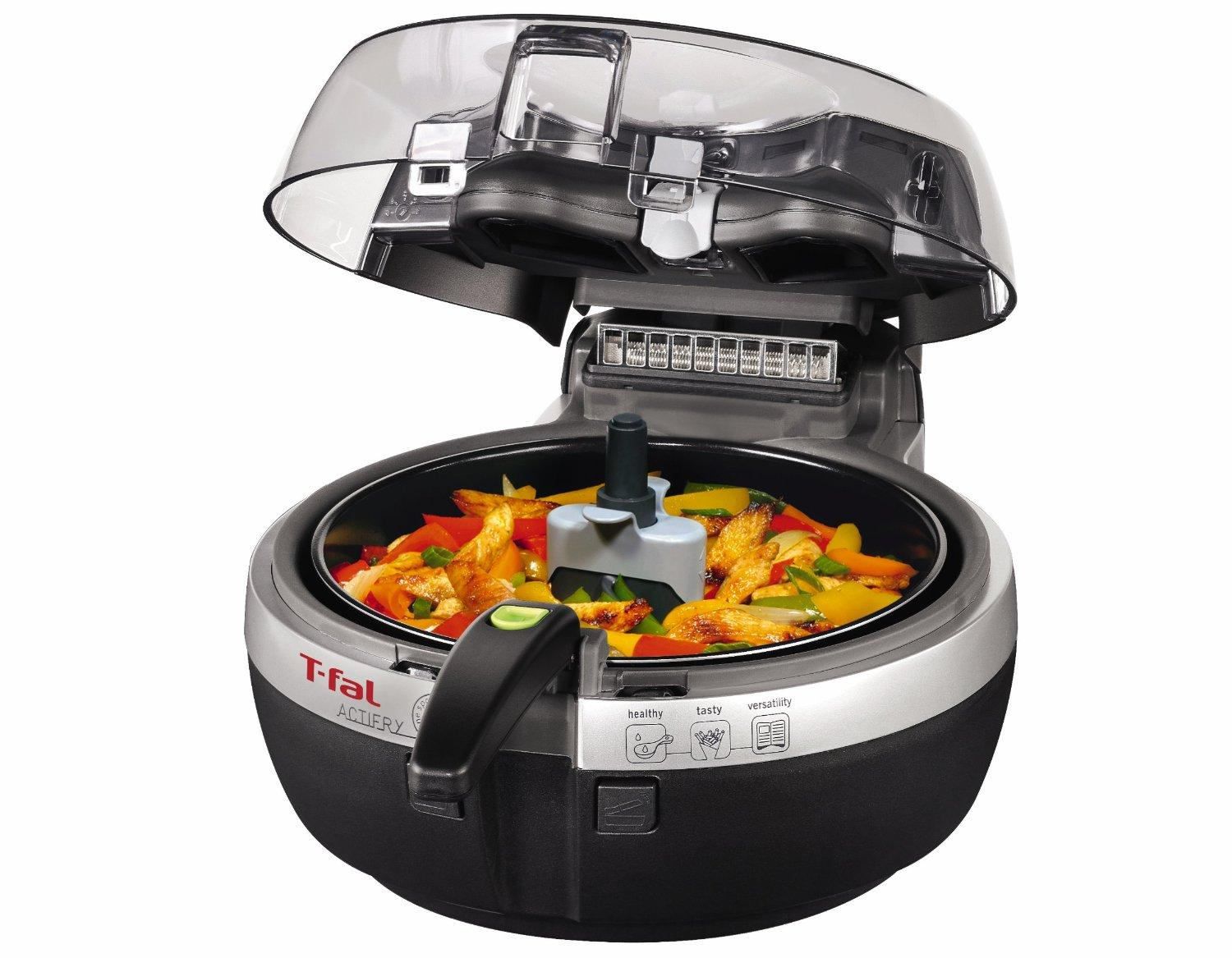 Lowest price! T-fal FZ7002 ActiFry Low-Fat Healthy Dishwasher Safe Multi-Cooker