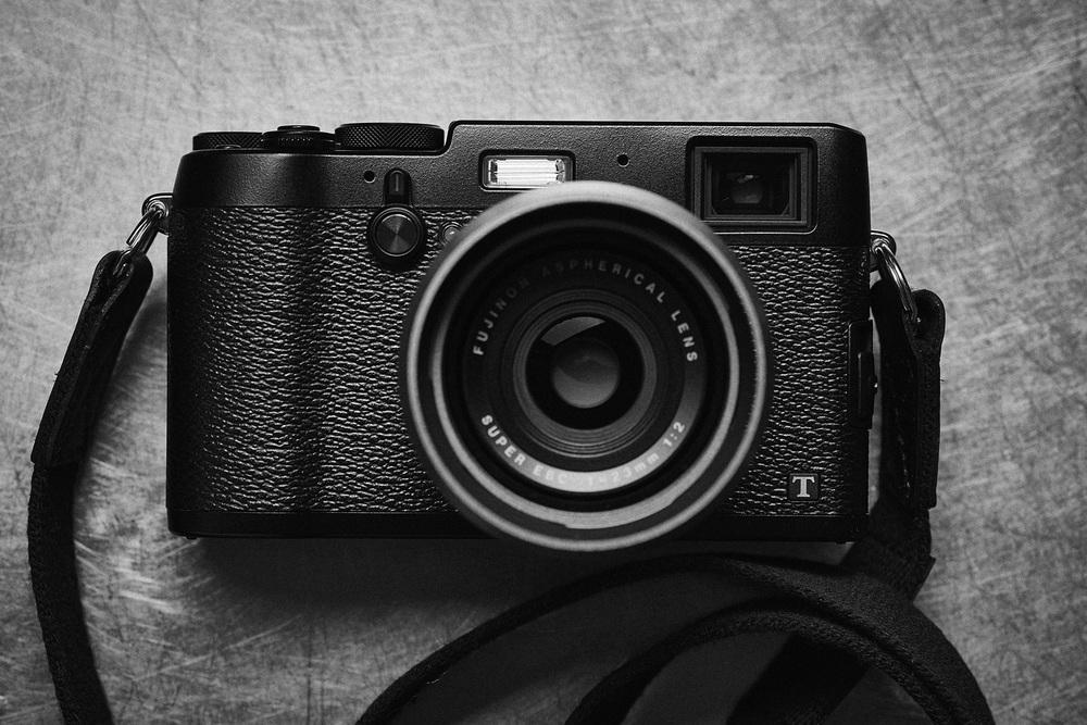 $999.99 Fujifilm X100T 16 MP Digital Camera (Black)
