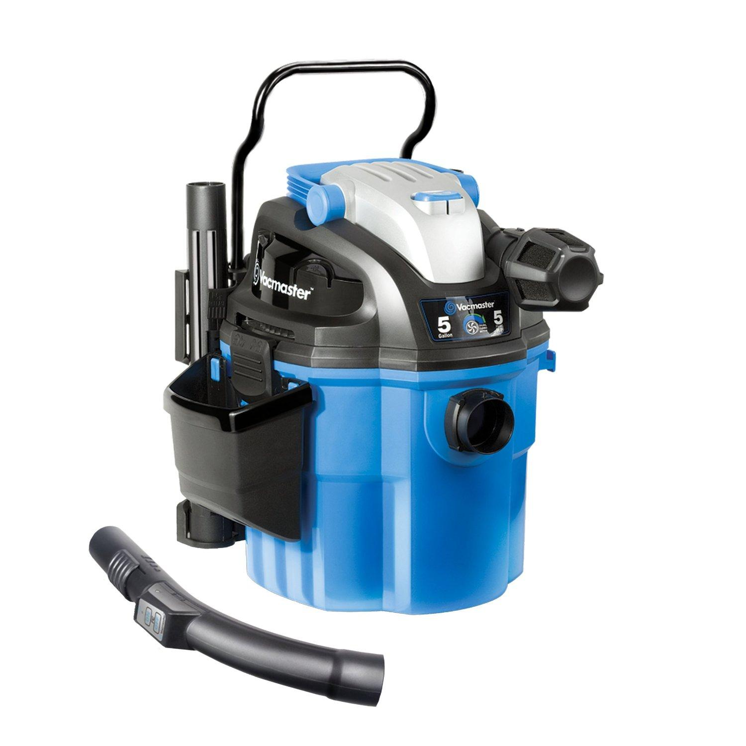 $79.99 Vacmaster VWM510 5-gal. Wall Mount / Portable Wet/Dry Vac with 2-Stage Motor