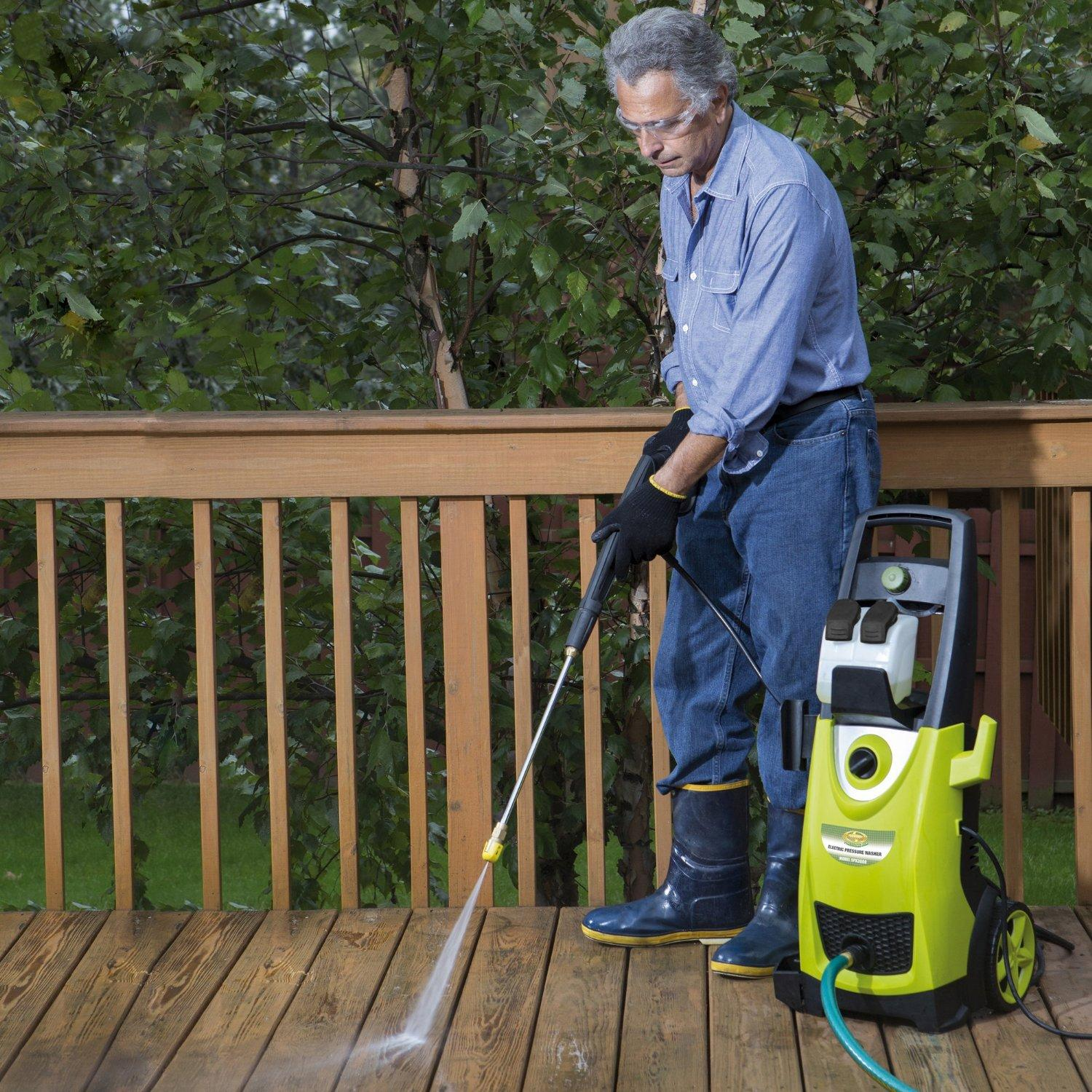 $149.99 Sun Joe Pressure Joe 2030-PSI 1.76-GPM 14.5 Amp Electric Pressure Washer