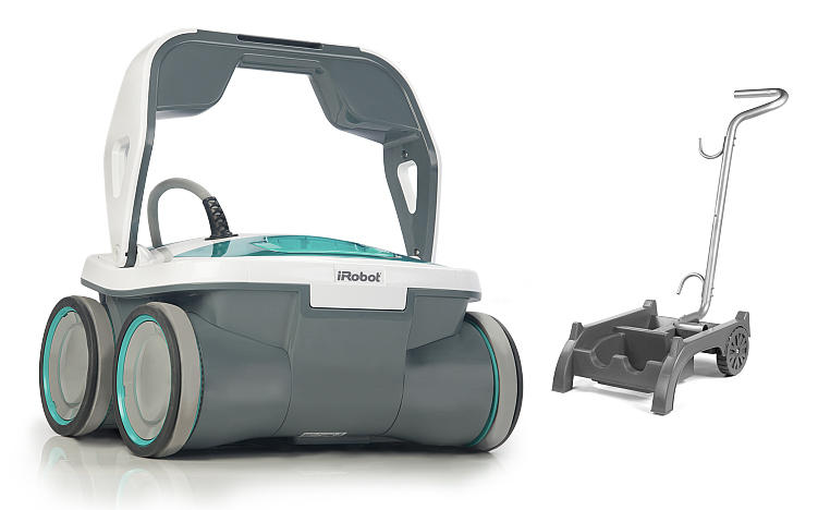 Free Cart/Caddywith iRobot Mirra™ 530 Pool Cleaning Robot Purchase