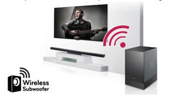 LG NB3530A - 2.1 Channel Surround Soundbar with Wireless Subwoofer