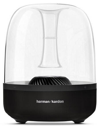 Harman Kardon Aura Black Wireless Stereo Speaker System (Recertified)