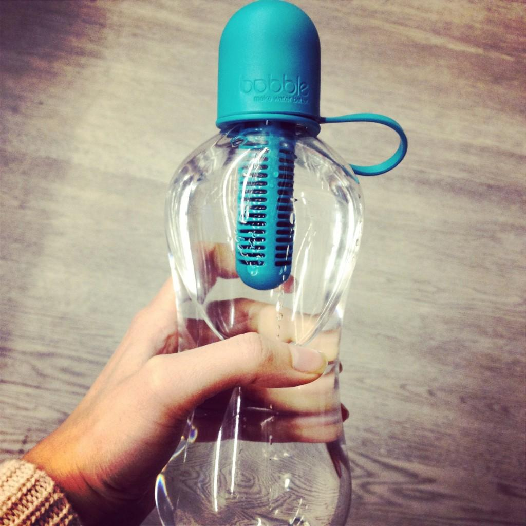 $8.99 Water Bobble Sport Filtered Water Bottle, 18.5-Ounce,