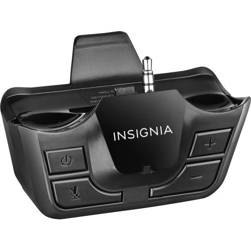 $9.99 Insignia Headset Audio Controller for PlayStation 4 Black