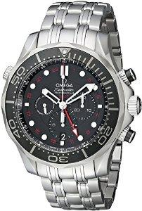 $4223.19 Omega Men's Seamaster Analog Display Automatic Self Wind Silver Watch