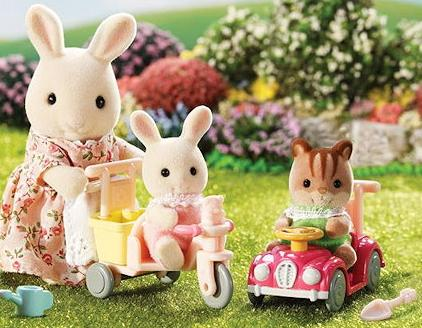 $16.79 Calico Critters Apple and Jake's Ride n Play