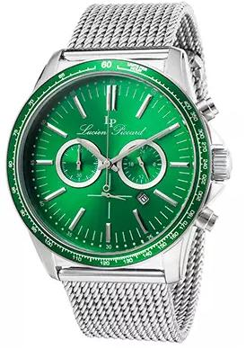 $94.99 Lucien Piccard Fidelity Stainless Steel Mens Watch 10056-88