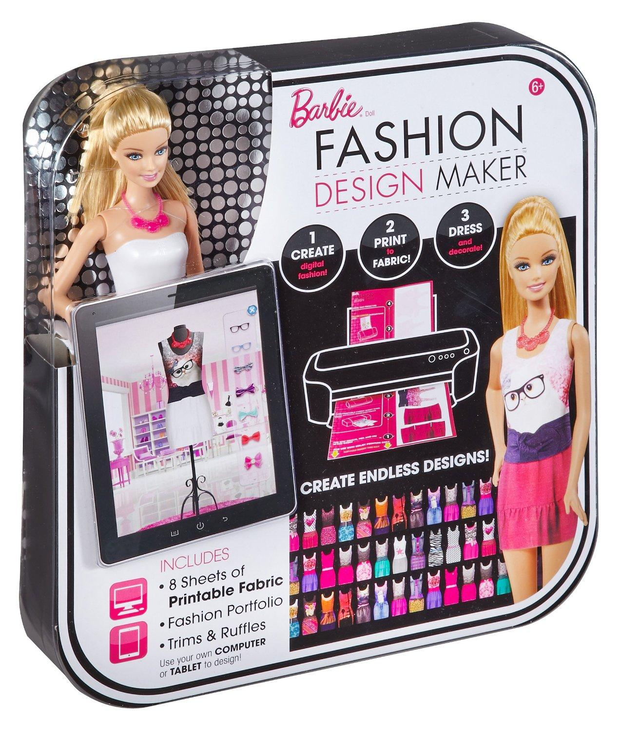 $9.1 Barbie Fashion Design Maker Doll