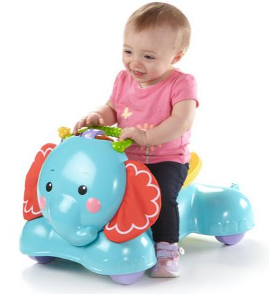 $27.79 Fisher-Price 3-in-1 Bounce, Stride and Ride Elephant @ Walmart.com