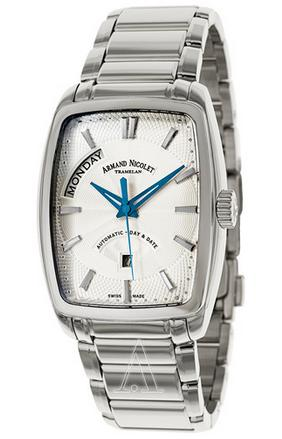 Armand Nicolet Men's TM7 Day & Date Watch 9630A-AG-M9630