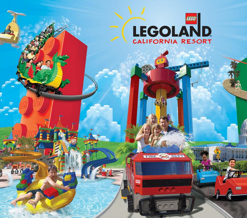 Free Legoland TicketWith Any Purchase