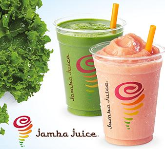 Buy One Get Second Upsize Smoothie for FREE @ Jamba Juice