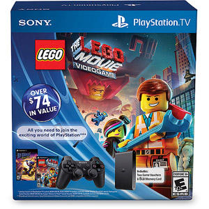 $69 PlayStation TV Limited Edition Bundle with Lego Movie and Sly Cooper Thieves in Time