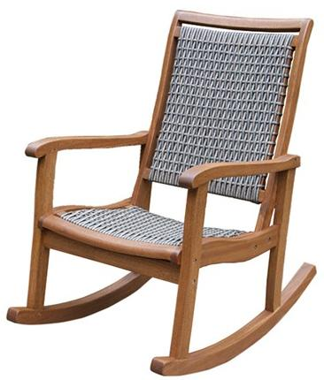 $149.99  Outdoor Interiors Wicker Rocking Chair