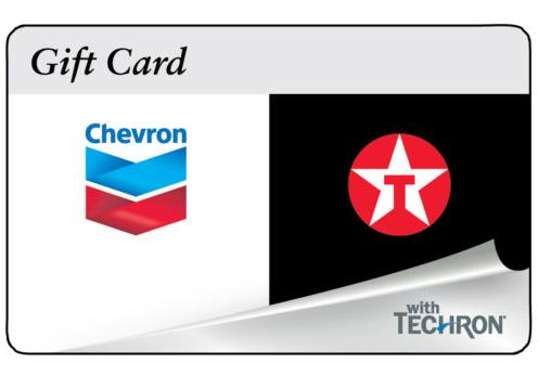 For $95 $100 ChevronTexaco Gift Card