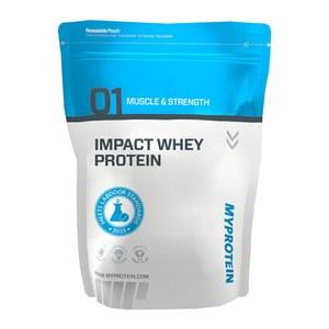 Impact Whey Protein (unflavored & flavored powders)