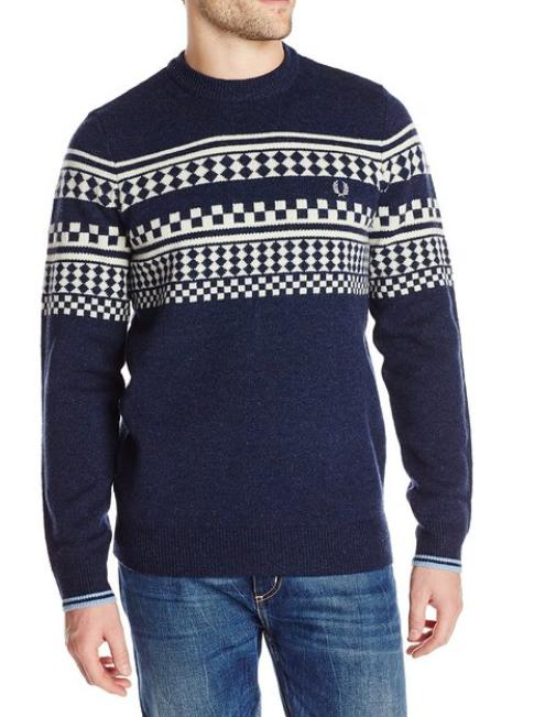 $76.73 Fred Perry Men's Tipped Island Knit Sweater