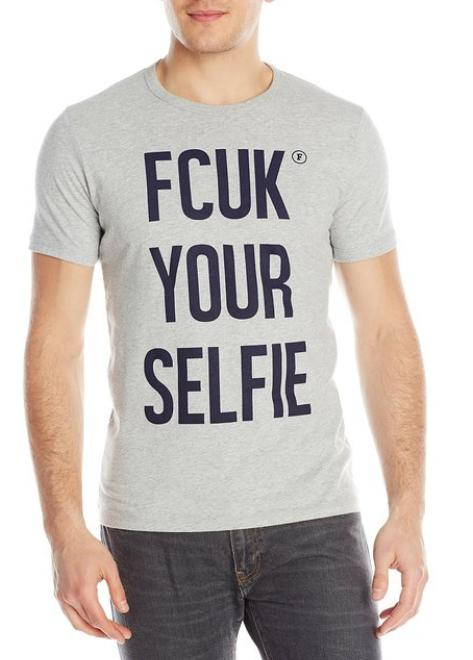 $27.16 French Connection Men's Fcuk Your Selfie Tee