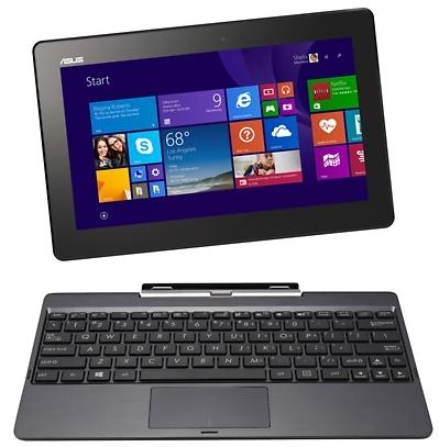 "$199.99 Asus Transformer Book 64GB 10.1"" Windows 8.1 Tablet with Keyboard Dock"