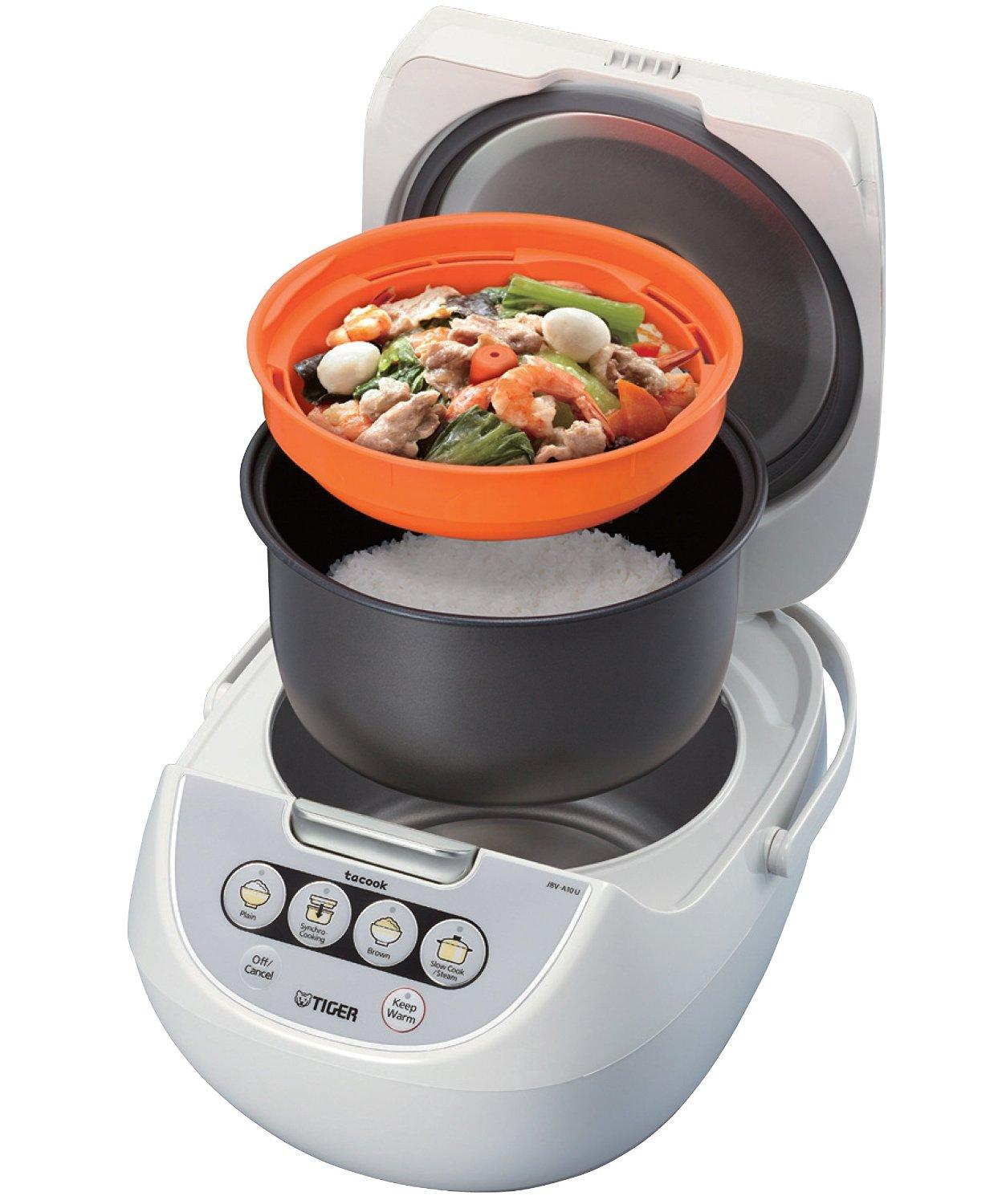 Tiger Micom Rice Cooker with Tacook JBV-A18U