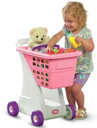 $19.54 Lowest Price Ever! #1 Best Seller! Little Tikes Shopping Cart - Pink