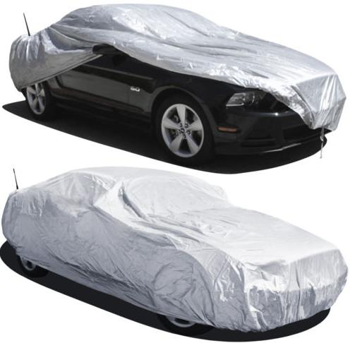 $14.95 SMALL Full Car Cover UV Protec...