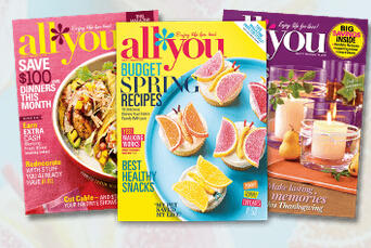 $5All You Magazine (1 Year Subscription) @ AllYou