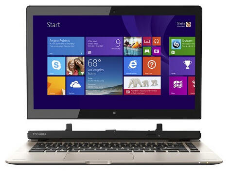 "$299.99 Toshiba Satellite Click 2 2-in-1 13.3"" Touch-Screen Laptop"