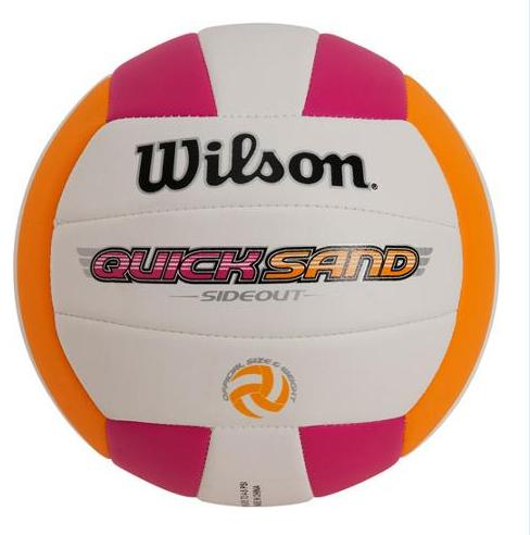 $14.99 Wilson Quicksand Spike Volleyball, Available in Multiple Styles