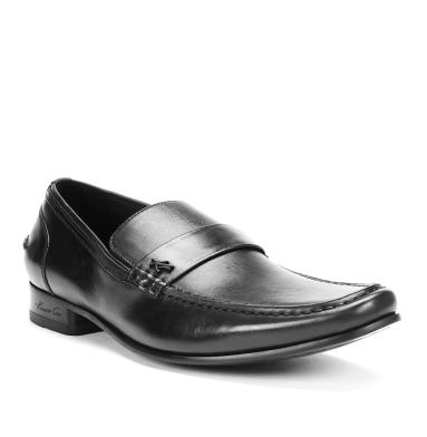 $52.99 Kenneth Cole Pull Strings Leather Penny Loafer+ Day N' Night Slide-On Sandal