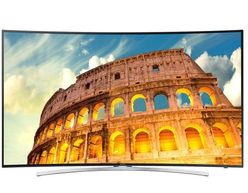 "$999.98 Samsung 55"" 240Hz 1080p 3D Curved LED-Backlit LCD Smart HDTV UN55H8000AFXZA"