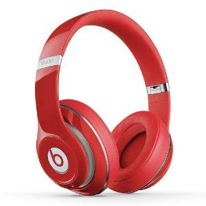 $195 Beats Studio 2.0 Wired Over Ear Headphone - Red