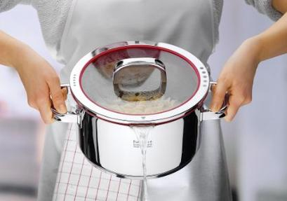 WMF Function 4 High Casserole with Lid, 6-Quart