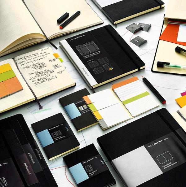 From $7.95 Moleskine Notebooks @ Amazon.com