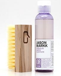 $17.14 Jason Markk Premium Shoe Cleaner Brush And Solution