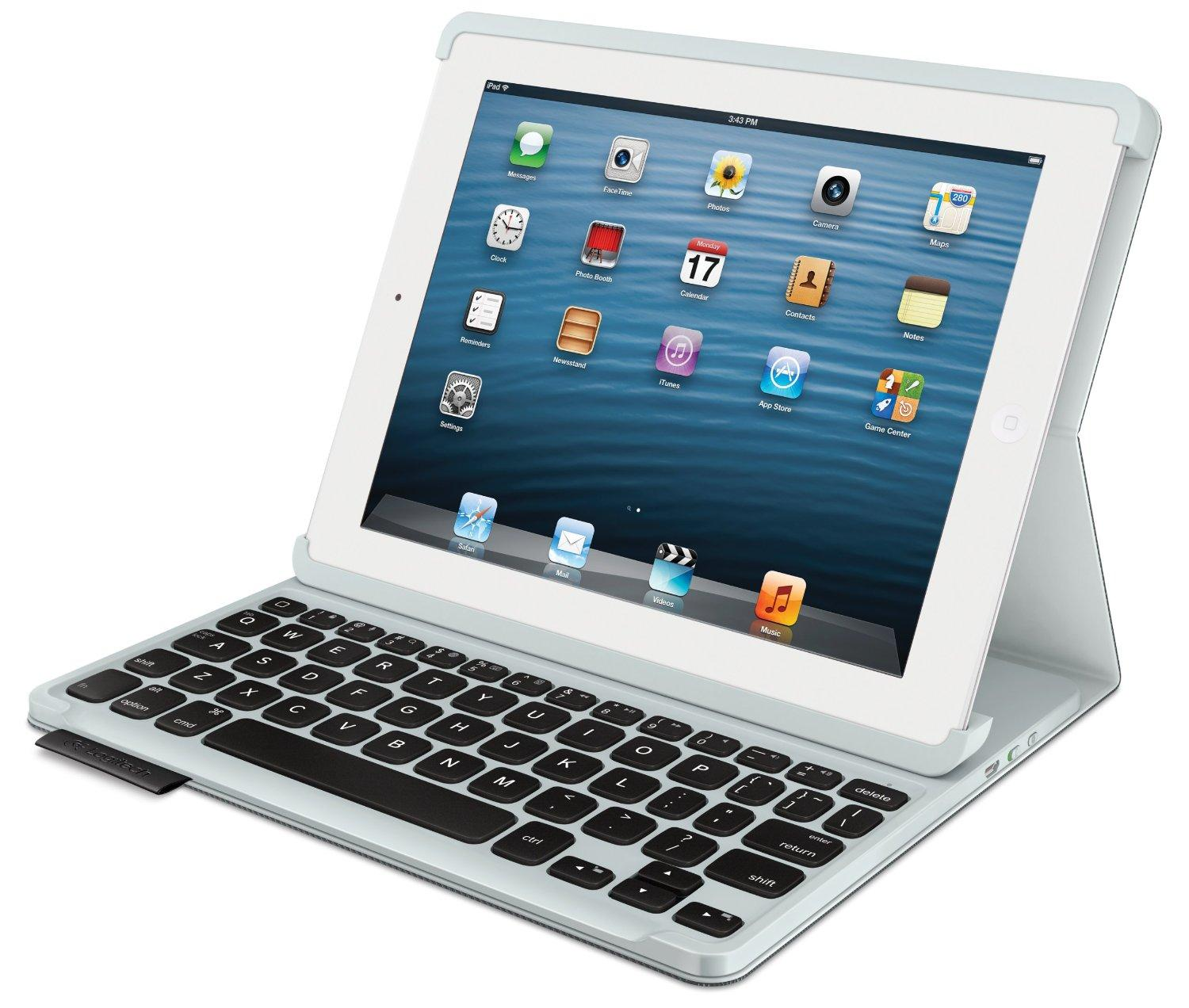 $51.99 Logitech Keyboard Folio for iPad 2G/3G/4G - Carbon Black