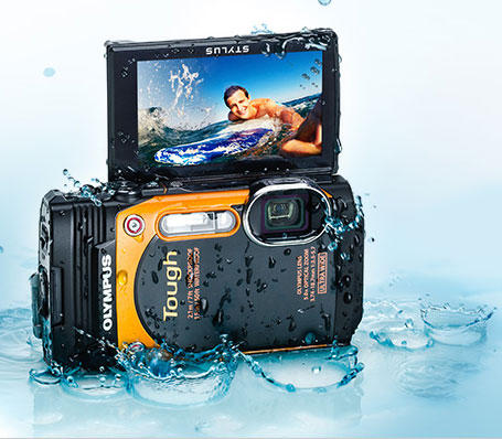 $199 Olympus TG-860 Tough Waterproof Digital Camera with 3-Inch LCD