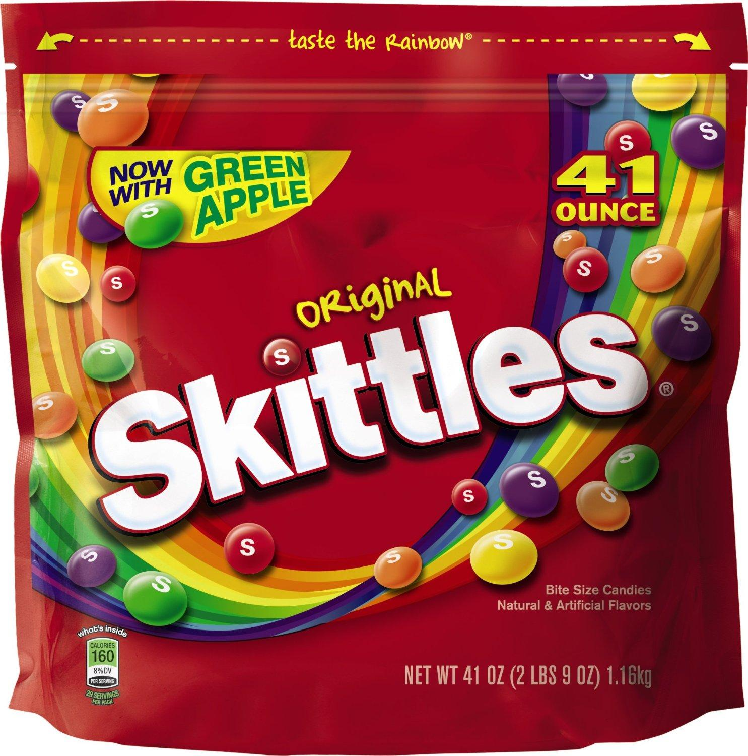 $10.61 Skittles Original, 41-Ounce Bags (Pack of 2)