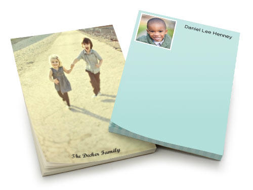 FreeShutterfly Personalized Notepad