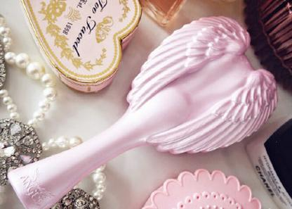 Tangle Angel Detangling Angel Hair Brush - Pink