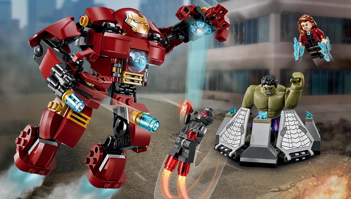$26.39 LEGO Superheroes The Hulk Buster Smash