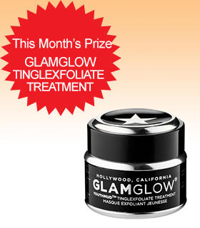 Subscribe to Dealmoon Newsletter,Win the Glamglow Tinglexfoliate Treatment