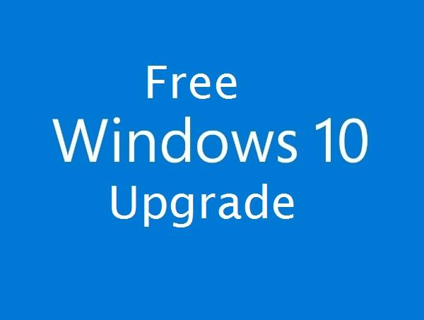 Free! Reserve your free upgrade for Windows 10!