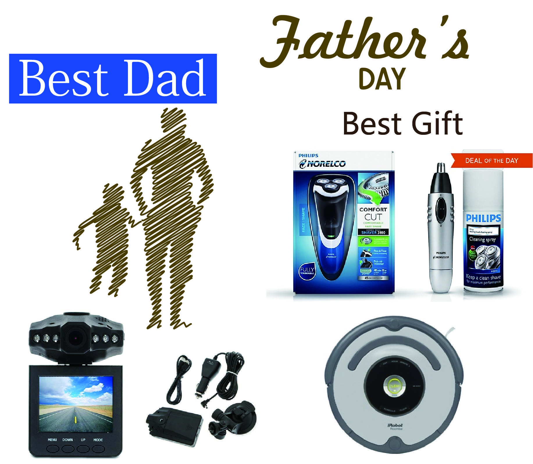 Farther's Day Deals Super Powered Gifts & Gadgets for Dad
