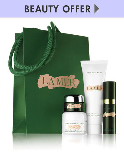Free Sample-Filled Bag+Free 4 Piece Gift Set  with $350 La Mer Purchase @ Neiman Marcus