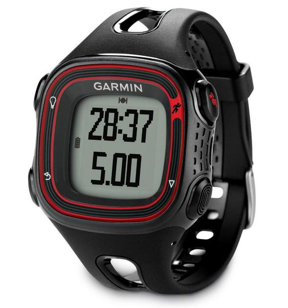 Garmin Forerunner 10 GPS Watch (Black/Red)