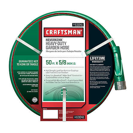 $15.99 Craftsman Heavy Duty Neverkink Self-Straightening Hose- 50Ft.