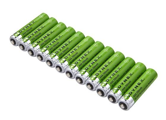 $5.99 Dynex™ - Rechargeable AAA Batteries (12-Pack)