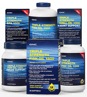 50% Off Select Fish Oil and Multivatamins @ GNC